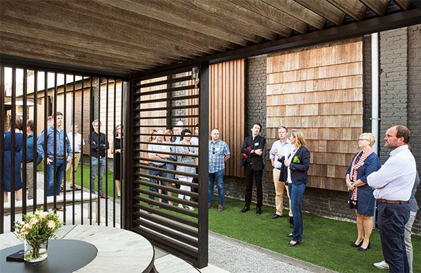 Ausstellungsraum carpentier hardwood solutions