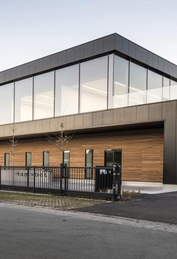 Timber cladding Ingelmunster