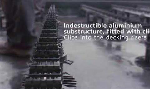 Video QuickClip®, decking riser installation instructions