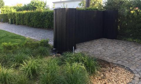 Rapid installation of gate | Carpentier