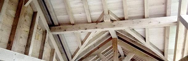 Poplar roof boards